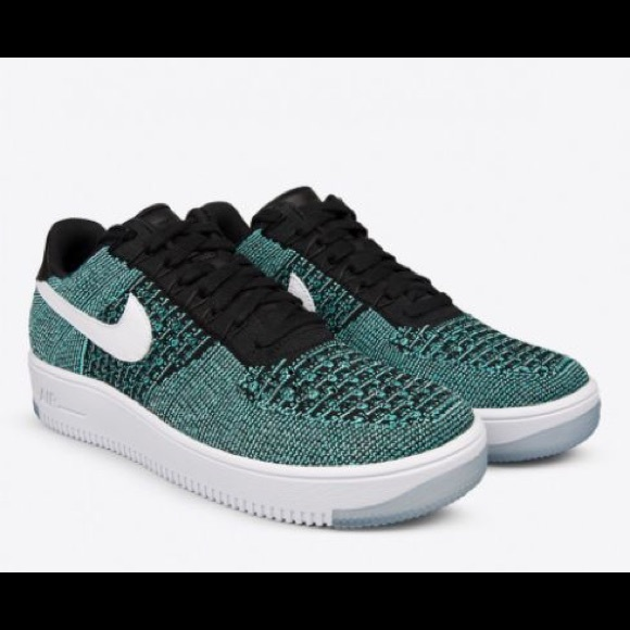 huge discount 0d846 3a991 SOLD men s Nike Air Force 1 Ultra Flyknit Low Teal