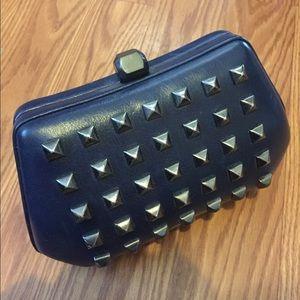 Rebecca Minkoff Handbags - Rare Rebecca Minkoff Hard Clutch Authentic