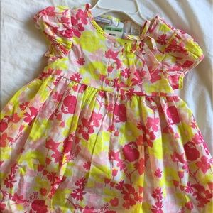 Macy's Other - ✨ NWT Pink and yellow floral dress ✨