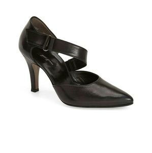 Paul Green Shoes - Paul Green Black Leather Pumps