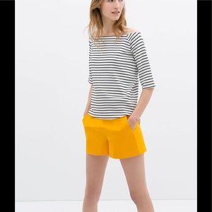 Zara high waist tailor short
