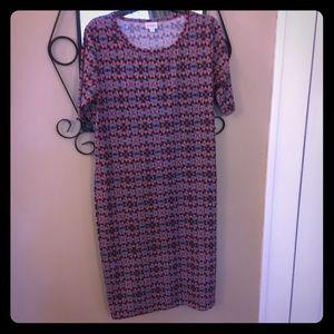 Lularoe Julia dress size 2x