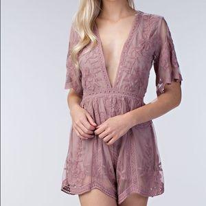 Dresses & Skirts - Hanalei Bay Lace Romper