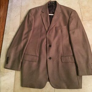 Gianfranco Ferre Other - Men's sports jacket light brown three button down