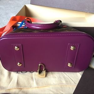 569c5d816f93 Louis Vuitton Bags - Louis Vuitton Alma BB purple Totem bag NWT