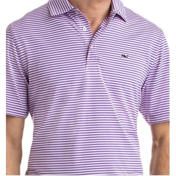 b1cb8c01de821a Vineyard Vines Shirts   Nwt Kennedy Stripe Polo Sz L   Poshmark