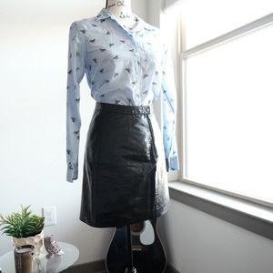 Wilsons Leather Dresses & Skirts - Vintage Genuine Leather Mini Skirt