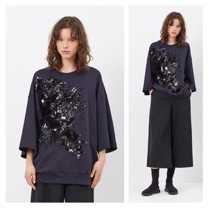 Dries Van Noten Sweaters - Dries van Noten Holten Sequin Sweater