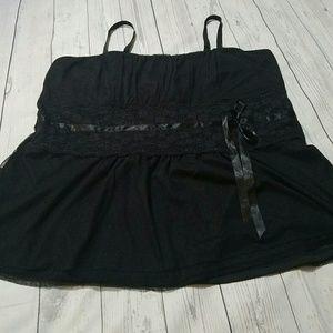 torrid Tops - Torrid empire waist lace tank