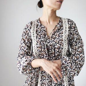 Nicole Bohemian luxe float dress
