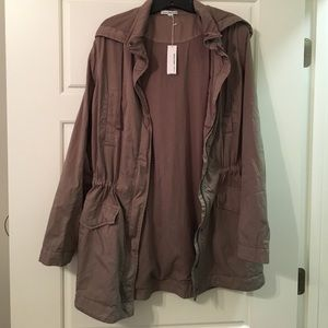 NWT James Perse Anorak - Size 3