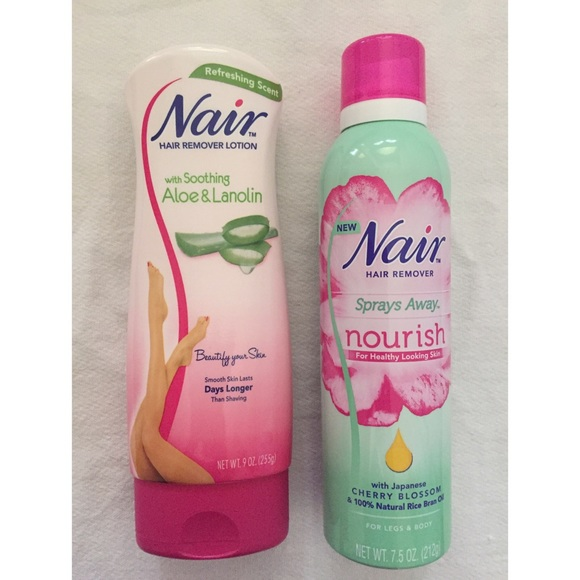 Other Nair Lotion Spray Away Nourish Hair Remover Poshmark