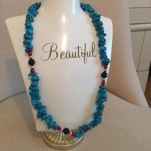 Jewelry - Real turquoise (don't know what mine) necklace