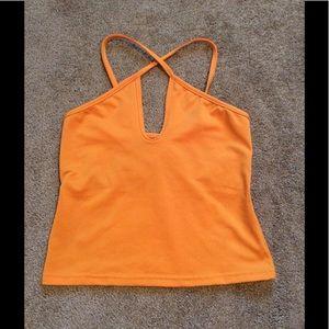Vintage 90s Orange Tankini Top