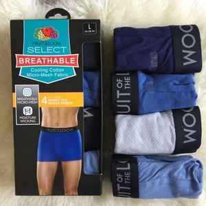 Fruit of the Loom Other - Short lag Boxer Briefs 2 Packs, 8 pairs