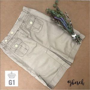 G1 Goods Dresses & Skirts - G1 Goods for Anthropologie Khaki Skirt