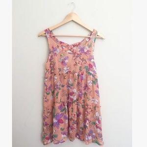 Love Riche Dresses & Skirts - Love Riche Floral Sheer Babydoll Dress