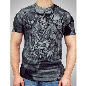 Affliction Other - AFFLICTION Mens T-Shirt PUPPET MASTER UFC