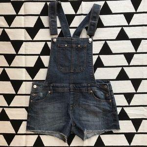 Tinseltown Pants - Tinseltown Denim Shorts Overalls