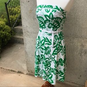 A. Byer Dresses & Skirts - A. Byer Juniors green and white flowered dress!