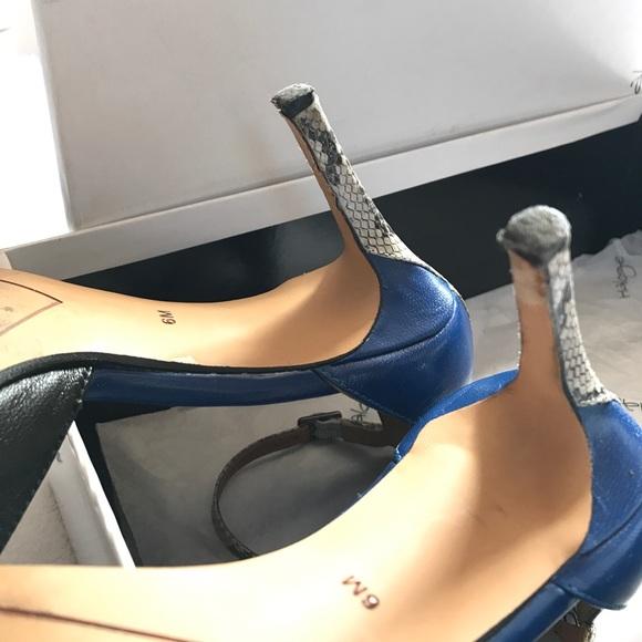 Halogen Shoes - Halogen three toned heels.
