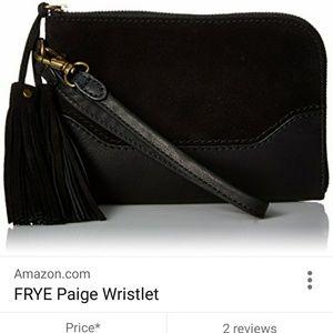 Frye Handbags - Frye Paige leather tassel wristlet