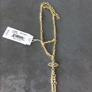 Kendra Scott Jewelry - Kendra Scott Hand chain-Gold NWT