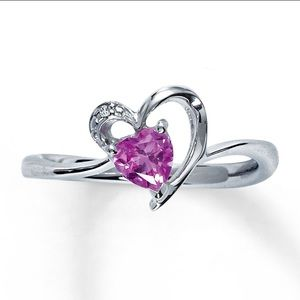 Jewelry - Kay's pink heart ring!
