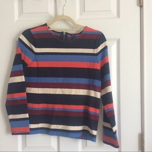 J. Crew Striped Structured Tee OBO