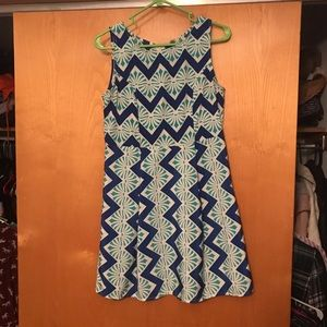 Francesca's Collections Dresses & Skirts - Geometric pattern tribal print boutique dress