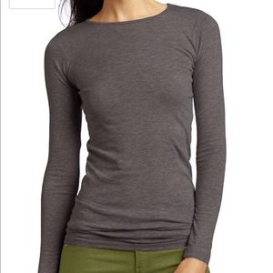 LAmade Tops - Charcoal grey LAMade long sleeve tee