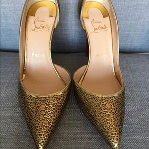 Authentic Christian Louboutin Galu d'orsay Pump