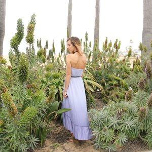 lavender ombre dress