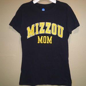 NCAA Tops - Women's size Small Mizzou Mom shirt