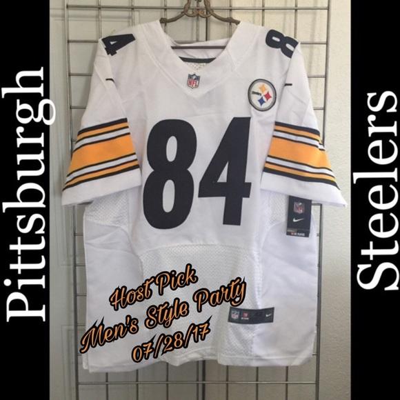 e90136e4abe Nike Shirts | Hp Mens Style Party Nwt Steelers Nfl Jersey 153 | Poshmark