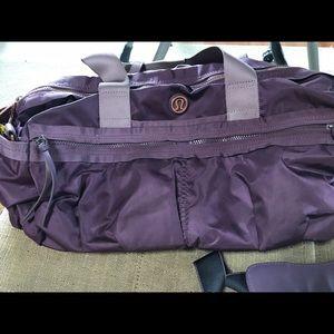 f506056d873 lululemon athletica Bags   Lululemon Gym To Win Duffle Bag Purple ...