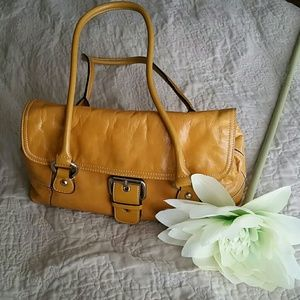 Giani Bernini Handbags - Vintage Giani Bernini Leather Satchel Bag