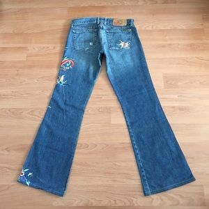 Lucky Brand Jeans - Lucky brand lil Maggie Embroidered jeans sz 6/28