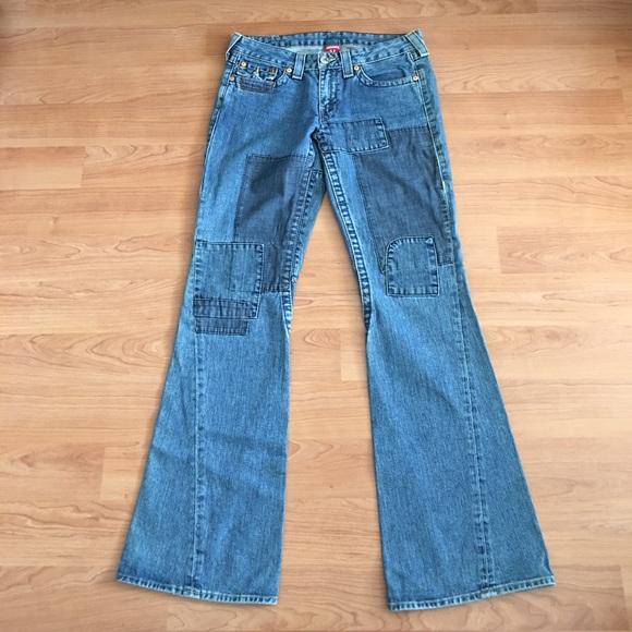 True religion joey patch jeans