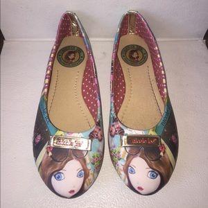 Nicole Lee Shoes - Adorable Nicole Lee Cupcake Girl Flats Size 5