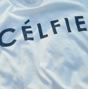 Fifth Sun Tops - Celfie Graphic Tee