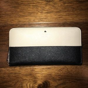 Kate Spade two toned wallet