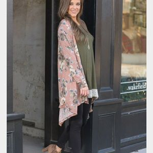 Sweaters - Love in Bloom Cardigan