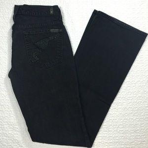 7 For All Mankind Denim - 7 for all mankind Beaded Pistol Emblem Jeans