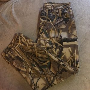 23444370 Wrangler Jeans | Euc Fleece Lined Camo Pants Sz 34x30 | Poshmark