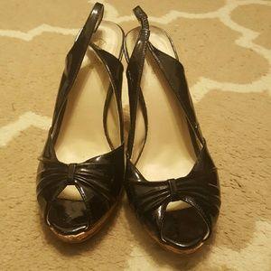 Qupid Shoes - 💙 $3 Qupid Slingback Peeptoe Heels