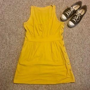 Vintage Mod Button-up Sun Dress