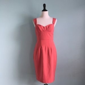 Ava & Aiden Dresses & Skirts - Coral Pinup Sweetheart Dress