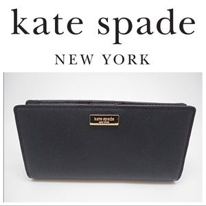 KATE SPADE Laurel Way Wallet BLACK