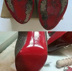 36aa787ad3b Christian Louboutin Shoes - Vibram soles paint for Christian Louboutin heels !